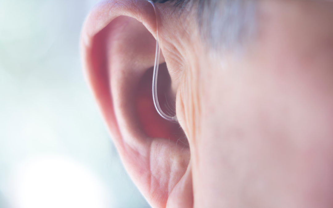 My older hearing aids are very noticeable. Are there newer hearing devices that are not noticeable?